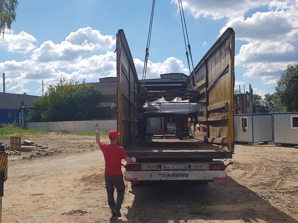 услуги перевозки негабаритных грузов